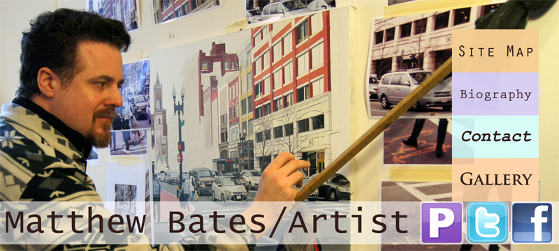 Matthew Bates Oil Painter