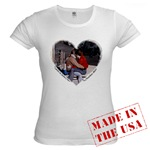 Italian Love is in the air with this baby-doll tee