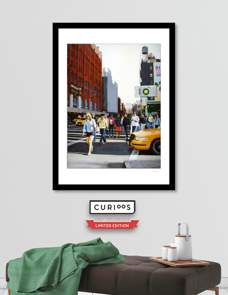 "Curioos Limited Edition Prints of ""Soho - New York City"""